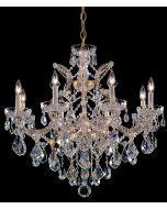 Crystorama 4409 Maria Theresa 9 Light Chandelier