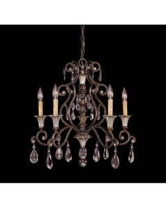 Savoy House 1-3001-5-8 St. Laurence 5 Light Crystal Chandelier