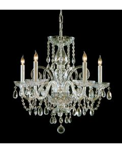 Crystorama 1005 Traditional Crystal 5 Light Chandelier