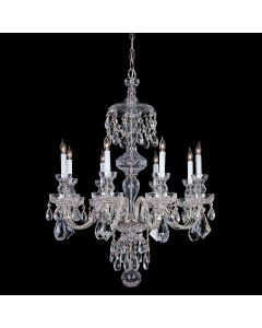 Crystorama 1148-CH-CL-S Traditional Crystal 8 Light Chandelier