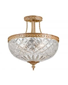 Crystorama 118-12 Ceiling 3 Light Ceiling Mount