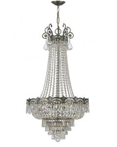 Crystorama 1487 Majestic 8 Light Chandelier