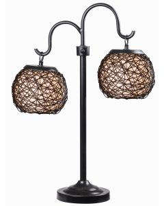 Kenroy Home Biscayne Outdoor Table Lamp - 32245BRZ