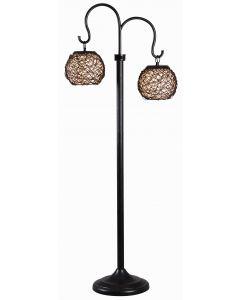 Kenroy Home Trellis Outdoor Floor Lamp - 32246BRZ