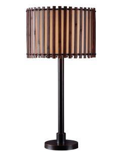 Kenroy Home Pratt Outdoor Table Lamp - 32279BRZ