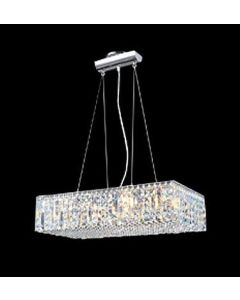 James R Moder 40376 Impact Linear crystal Pendant