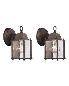Trans Globe Lighting 40455-2 BK Wall Lantern