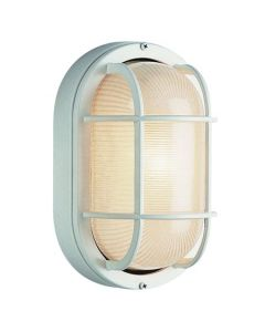 Trans Globe Lighting 41015-WH Aria Outdoor Bulkhead