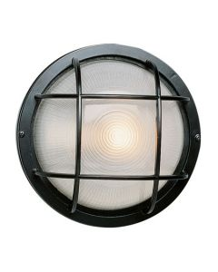 Trans Globe Lighting 41505-BK Aria Outdoor Bulkhead
