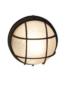 Trans Globe Lighting 41515-BK Aria Outdoor Bulkhead