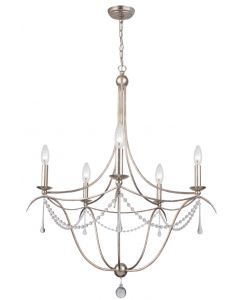 Crystorama 5 Light crystal Chandelier - 425