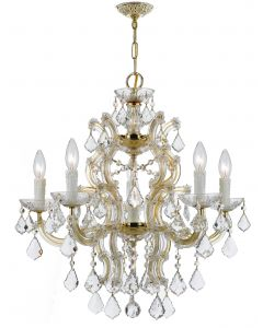 Crystorama 4335 Maria Theresa 6 Light Chandelier