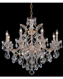 Crystorama 4409 Maria Theresa 9 Light Chandelier