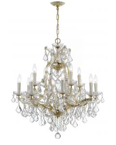 Crystorama 4412 Maria Theresa 13 Light Chandelier