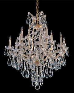 Crystorama 4413 Maria Theresa 13 Light Chandelier