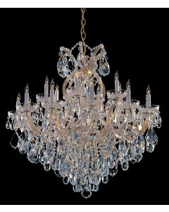 Crystorama 4418 Maria Theresa 19 Light Chandelier