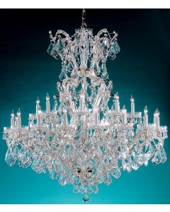 Crystorama 4424 Maria Theresa 25 Light Chandelier