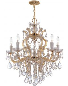 Crystorama 4435 Maria Theresa 6 Light Chandelier