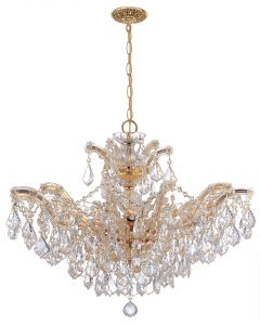 Crystorama 4439 Maria Theresa 6 Light Chandelier