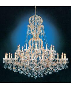 Crystorama 4460 Maria Theresa 37 Light Chandelier