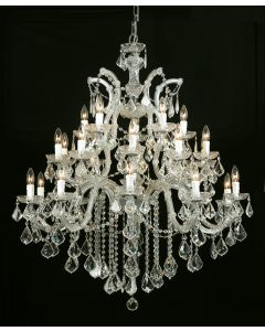 Crystorama 4470 Maria Theresa 26 Light Chandelier