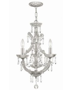 Crystorama 4473 Maria Theresa 4 Light Mini Chandelier