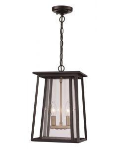 Trans Globe Lighting 50763 BK Hanging Lantern