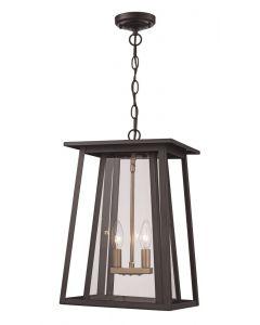 Trans Globe Lighting 50764 BK Hanging Lantern