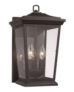 Trans Globe Lighting 50771 BK Outdoor Wall Lantern