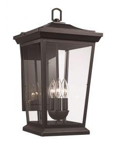 Trans Globe Lighting 50772 BK Outdoor Wall Lantern