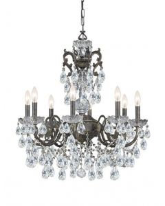Crystorama 16 Lights crystal Chandelier - 5198-EB-CL
