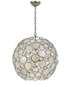 Crystorama 6 Lights crystal Chandelier - 529