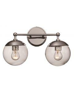 Trans Globe Lighting 71382 PC Vanity Light