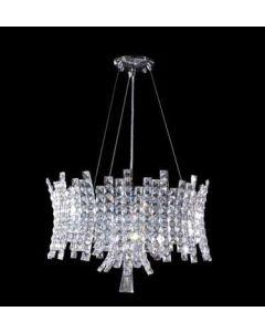 James R Moder 95635 Eclipse Collection crystal chandelier pendant