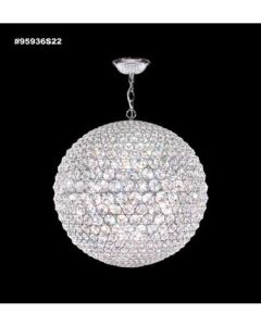 James R Moder Sun Sphere Europa Collection Large Pendant 95936