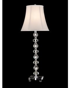 Dale Tiffany 1 bulb Buffet Lamps with Chrome finish - GB11065
