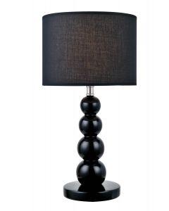 Lite Source 1 light table lamp - LS-22217BLK
