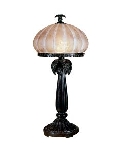Dale Tiffany 1 bulb Table Lamps with Dark Antique Bronze finish - PT100522