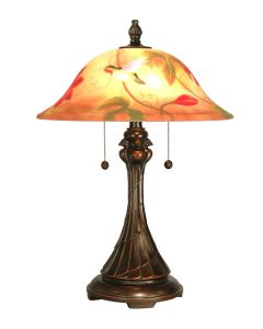 Dale Tiffany 2 bulb Table Lamps with Antique Golden Sand finish - RT60278