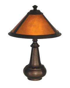 Dale Tiffany 1 bulb Accent Lamps with Antique Bronze finish - TA90191