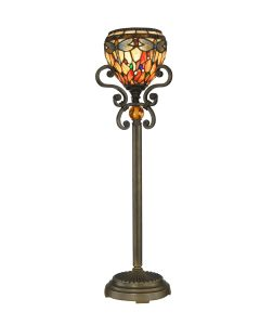 Dale Tiffany 1 bulb Buffet Lamps with Antique Golden Sand finish - TB10098