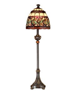 Dale Tiffany 1 bulb Buffet Lamps with Antique Bronze finish - TB101109