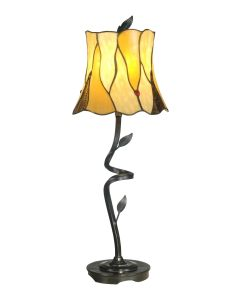 Dale Tiffany 1 bulb Buffet Lamps with Antique Bronze finish - TB11030