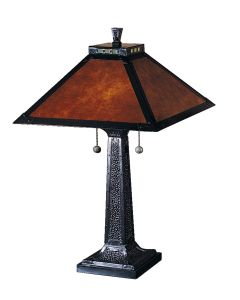 Dale Tiffany 2 bulb Table Lamps with Mica Bronze finish - TT100174