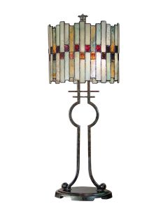 Dale Tiffany 2 bulb Table Lamps with Antique Bronze finish - TT101014