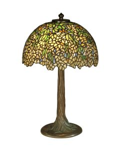 Dale Tiffany 2 bulb Table Lamps with Antique Bronze/Verde finish - TT10335