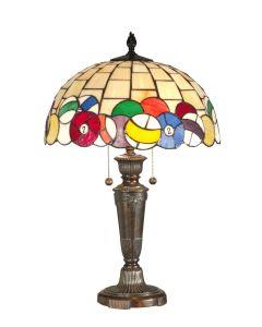 Dale Tiffany 2 bulb Table Lamps with Fieldstone finish - TT10956