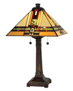 Dale Tiffany 2 bulb Table Lamps with Fieldstone finish - TT13061