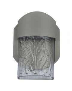 Access Lighting 20043LEDDMG-SAT/CLR Mist 1 Light LED Wall Fixture