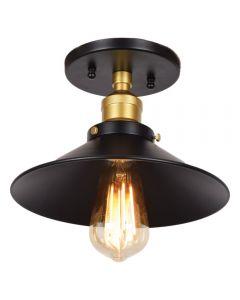 Access Lighting 24002LEDDLP-BGL The District 1 Light Retro Semi Flush Mount